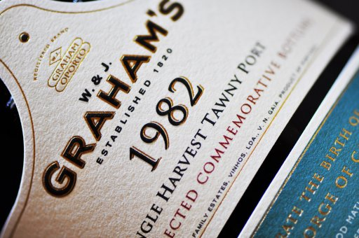 ALGR009 Grahams Port Colheita 1982