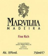 Justino's Marvilha Madeira Fine Rich 3 years old