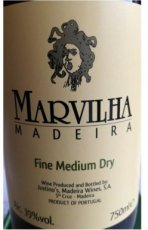 Justino's Marvilha Madeira Fine Medium Dry 3 years old